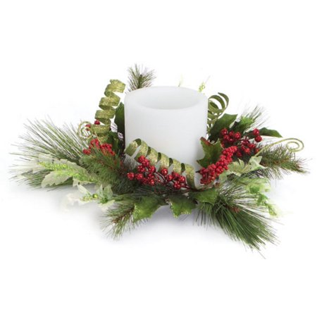 Poinsettia Candle Rings