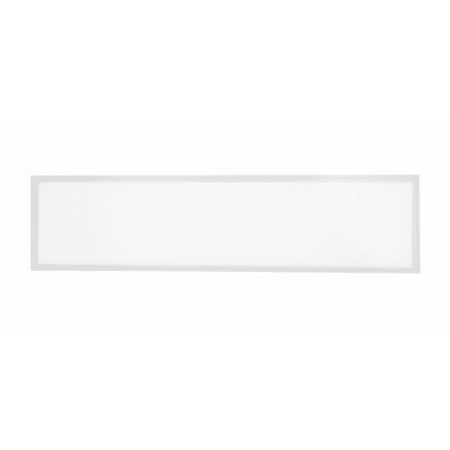 Worldwide Lighting Fpl14 Fpl Single Light 48   Wide Integrated Led Panel With Pol