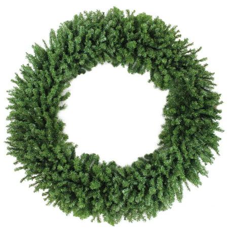 7 commercial size canadian pine artificial christmas wreath unlit - Walmart Christmas Commercial