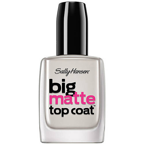 Sally Hansen Big Matte Top Coat, 0.4 fl oz