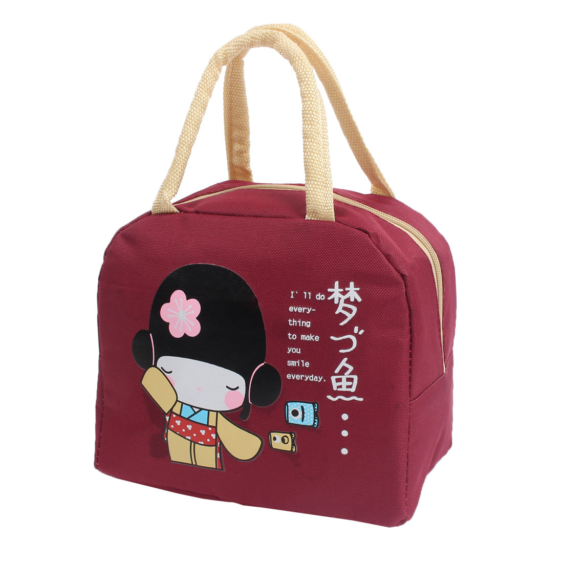 Travel Carry Tote Cooler Box Thermal Insulated Storage Pouch Lunch Bag