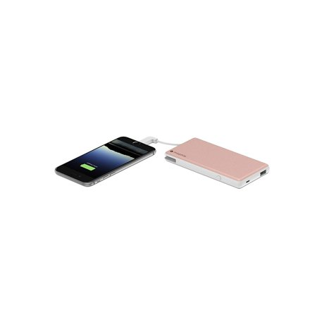 buy popular ab8ca 75879 mophie PowerStation Plus 6000mAh Portable Battery w/ Switch Tip - Rose Gold  (Refurbished)