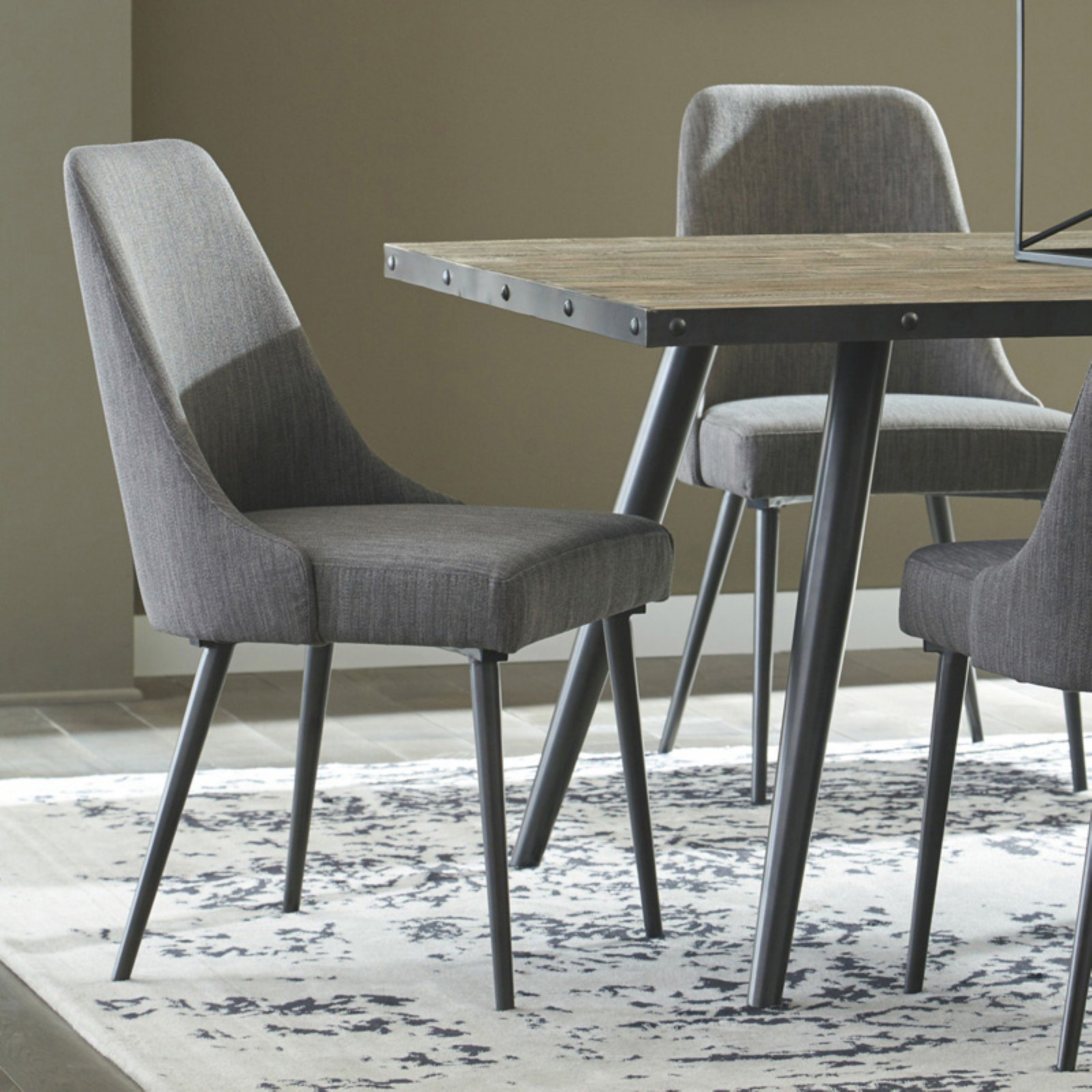 Signature Design by Ashley Coverty Dining Upholstered Side Chair - Set of 2