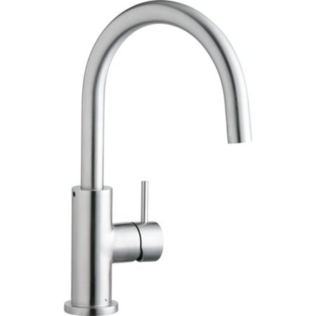 Elkay Allure Single Handle Kitchen Faucet with Lever and Side Spray