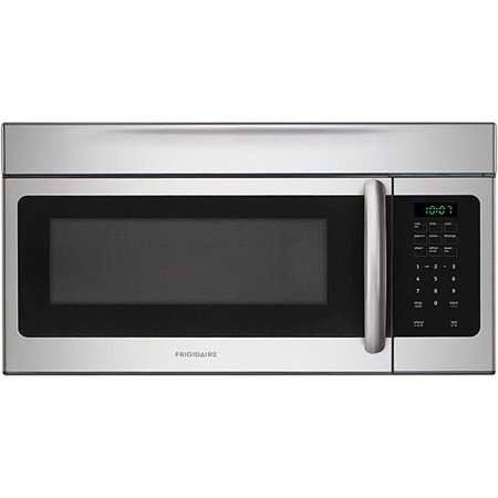 """Frigidaire 30"""" 1.6 Cu Ft 1000W Over-the-Range Microwave Oven, Stainless Steel"""