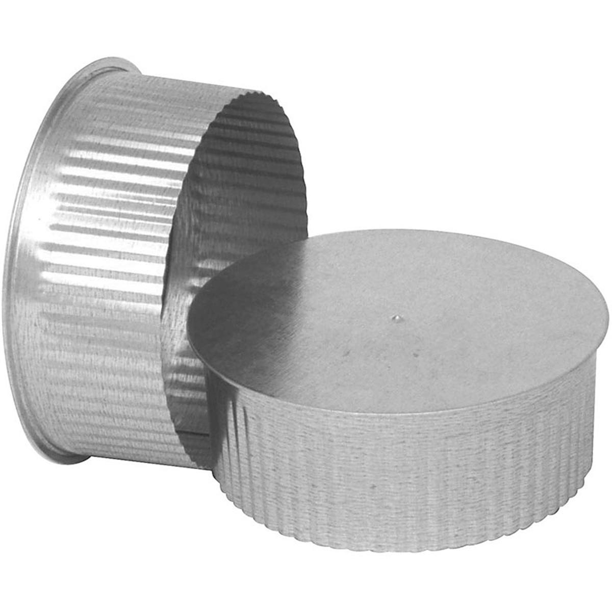 Imperial GV0737 Round Stove Pipe End Cap, 8 in