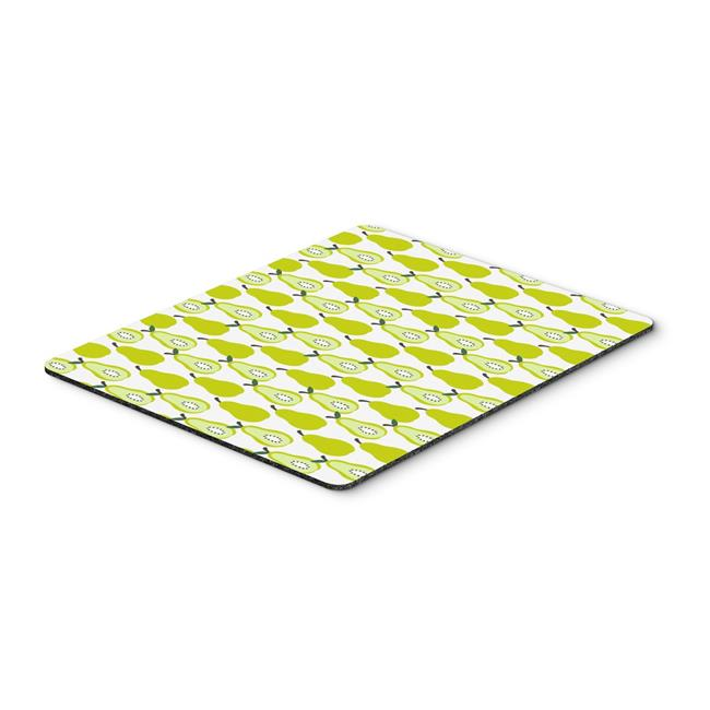 Pears on Green Mouse Pad, Hot Pad or Trivet