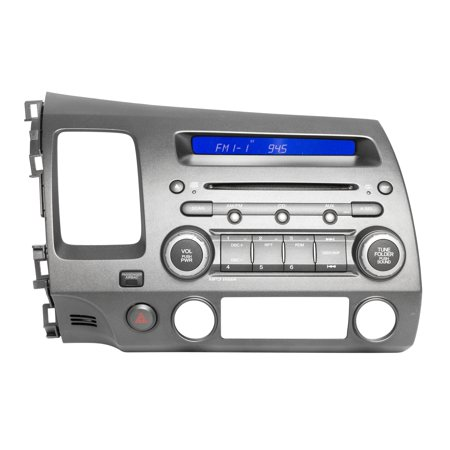 2009-11 Honda Civic AM FM MP3 Radio CD Code Included 39100-SNA-A611-M1 Face 2AL0 - Refurbished ()