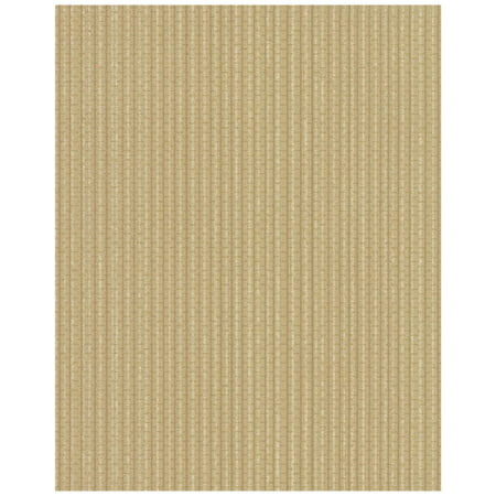 Ticking Stripe Wallpaper - Brown