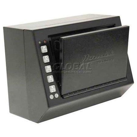 Homak Electronic Lock Pistol Box , Black - 10