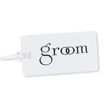Groom Luggage Tag