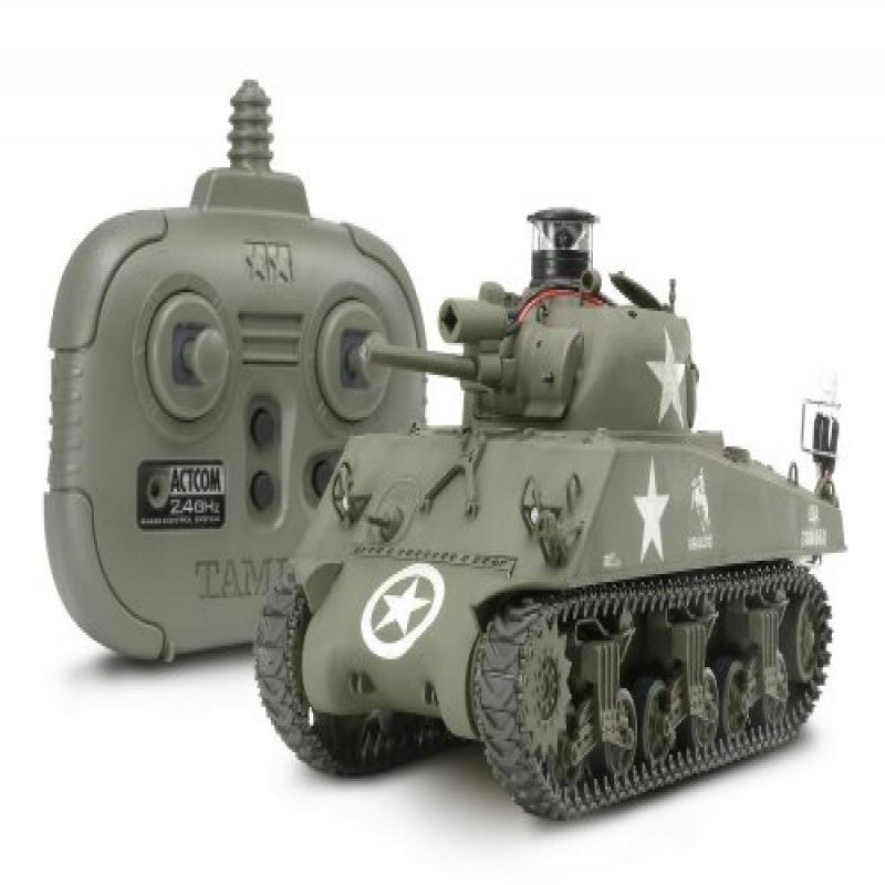 Tamiya America 1/35 US Medium Tank M4A3 Sherman Kit with ...