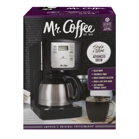 Mr Coffee 8 Cup Thermal Programmable Coffee Maker Jwtx85