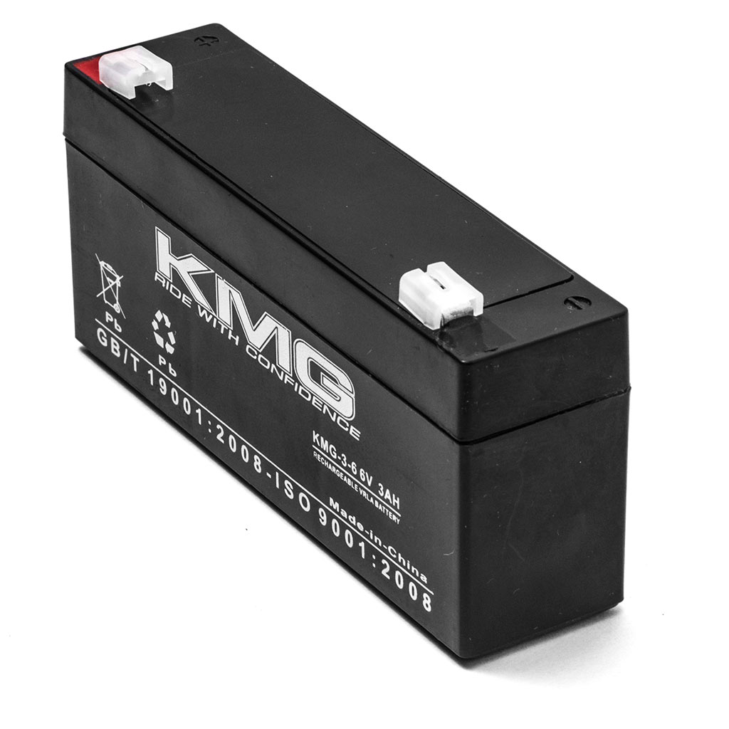 KMG 6V 3 Ah Replacement Battery for Narco Air Shields SYSTEM 5 / 6 - image 1 de 3