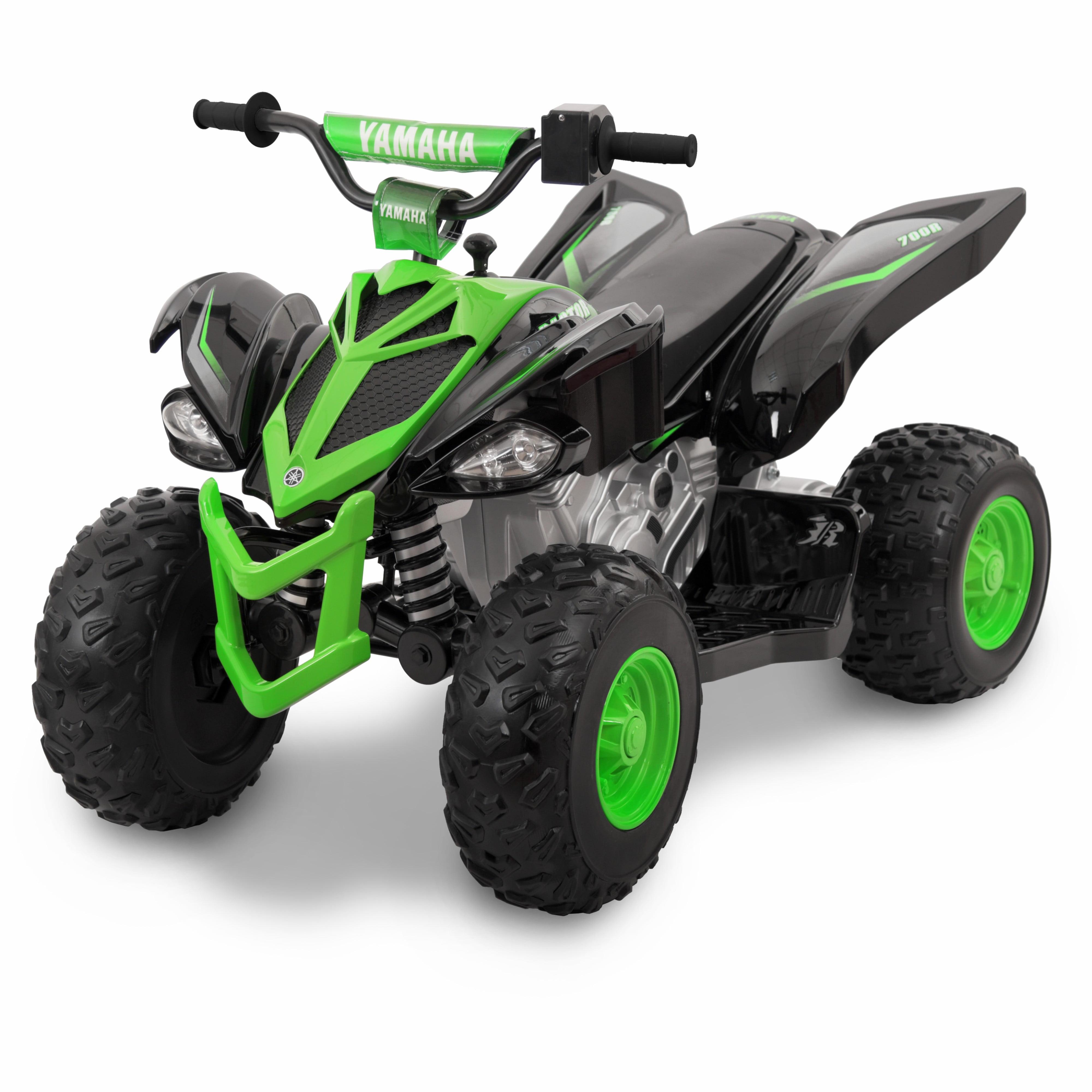 12 Volt Yamaha Raptor Battery Powered Ride-on Black/Green