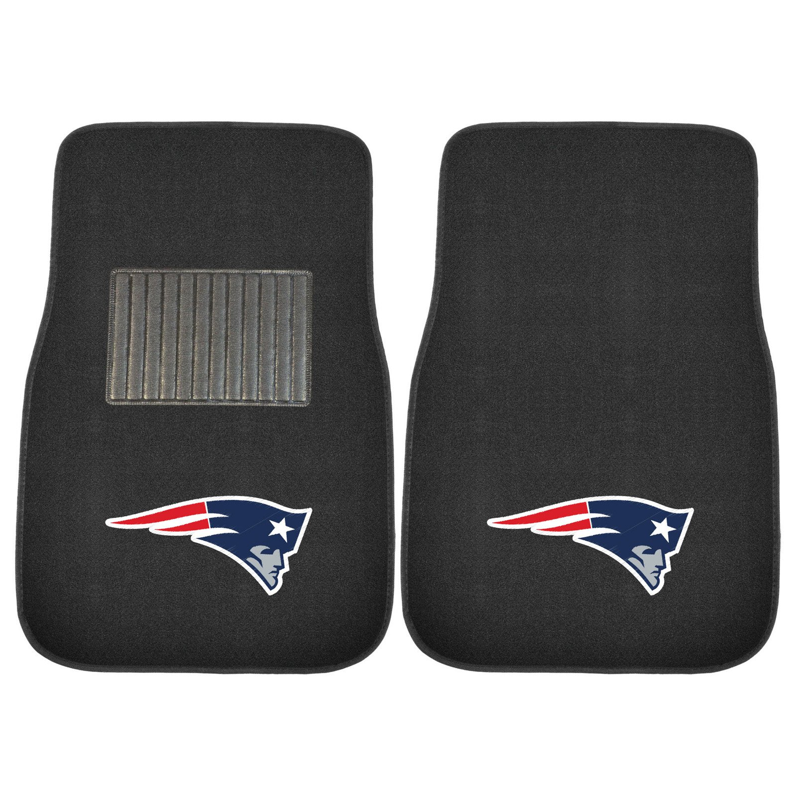 NFL New England Patriots Embroidered Car Mats