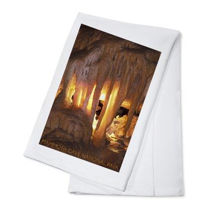 Mammoth Tower (Mammoth Cave, Kentucky - Drapery Room - Lantern Press Photography (100% Cotton Kitchen)