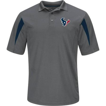 NFL Houston Texans Tall Men's Basic Polo