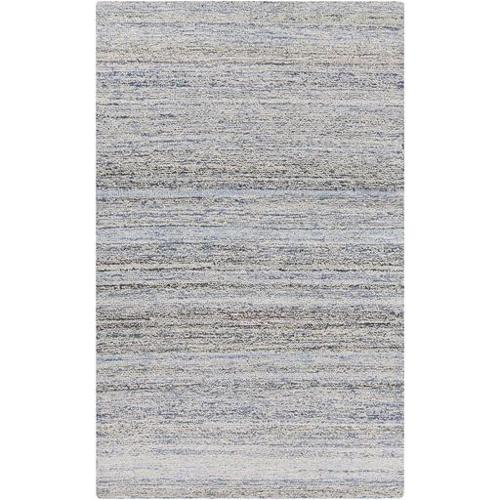 8' x 11' Pleasant Manic Mixed Assorted Colors Beige and Blue