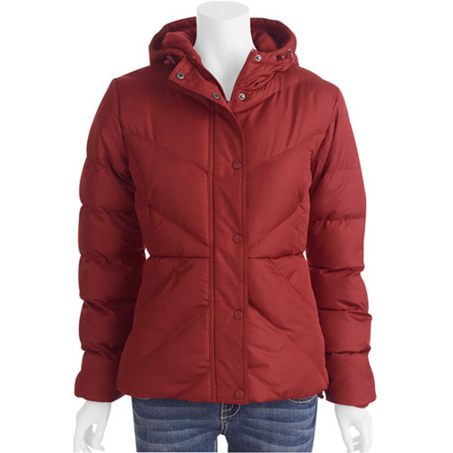 Faded Glory Women's Hooded Puffer Jacket