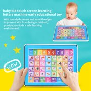 EBTOOLS Baby Kids Touch Screen Learning English Machine Tablet Early Educational Toy, Kids Tablet Toy,Tablet Toy