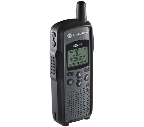 Motorola DTR410 Two Way Radio w/ Battery Gauge