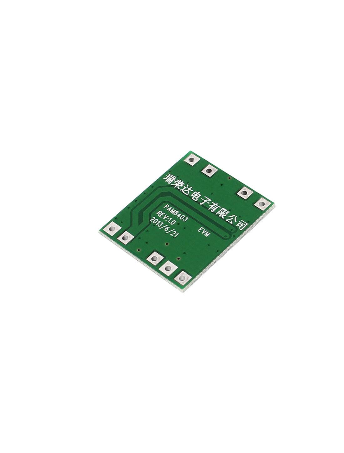 2 Pcs 5v Super Mini Pam8403 Class Digital Usb Power Amplifier Miniature Electronic Printed Circuit Card Control Pcb Board