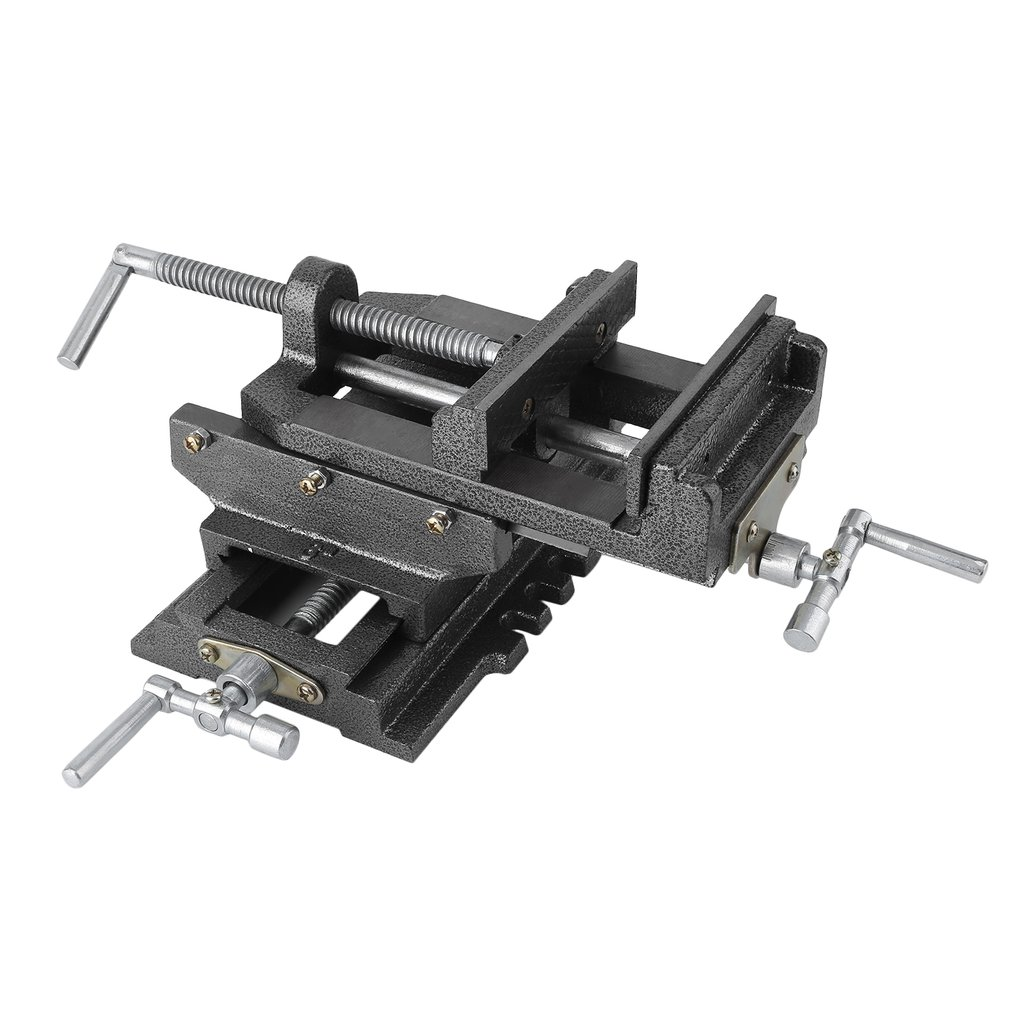 6 Inch Cross Clamp Cross-Shaped Vise Tiger Caliper Bench Drill Press Clamp