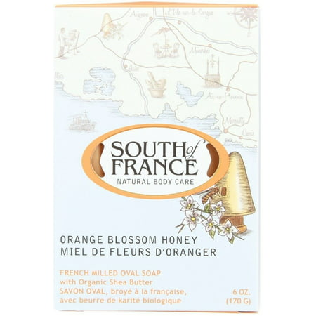 French Snap - 4 Pack - South of France Orange Blossom Honey Bar Soap 6 oz