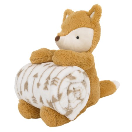 Little Love by NoJo Plush and Blanket Gift Set - (Little Fox)