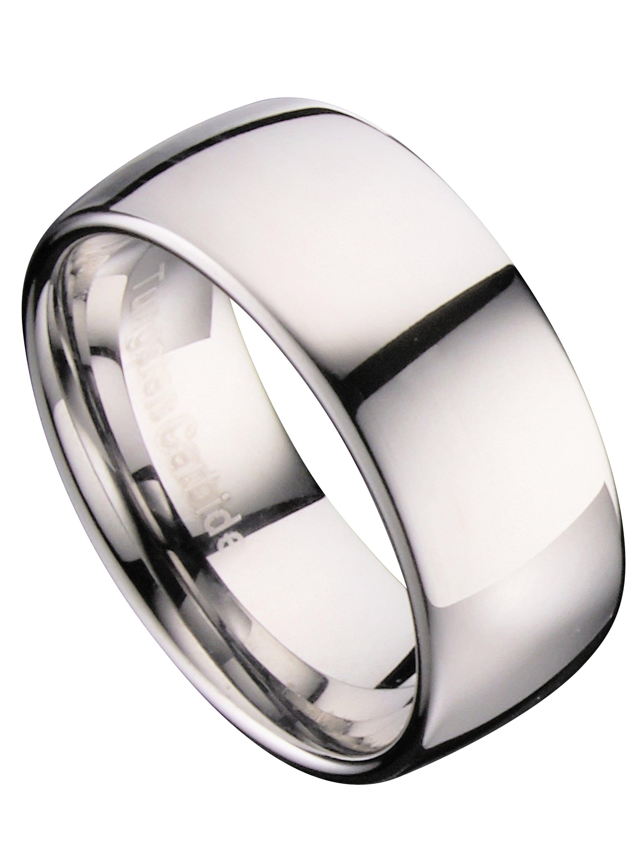 MJ Metals Jewelry - Tungsten Carbide Classic Wedding Ring ...