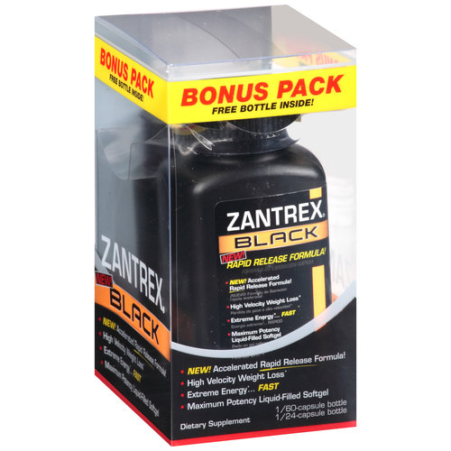 Zantrex Black Dietary Supplement Softgels, 84 count