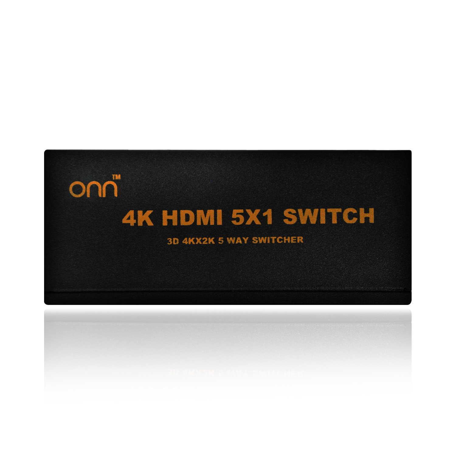 Onn 5-Port High Speed Hdmi Switch w/ IR Wireless Remote & Power Adapter