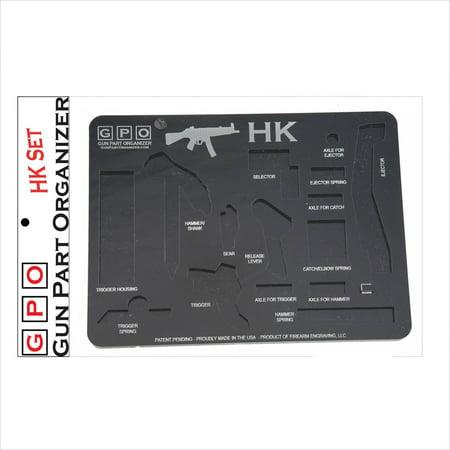 HK Gun Part Organizer, Black