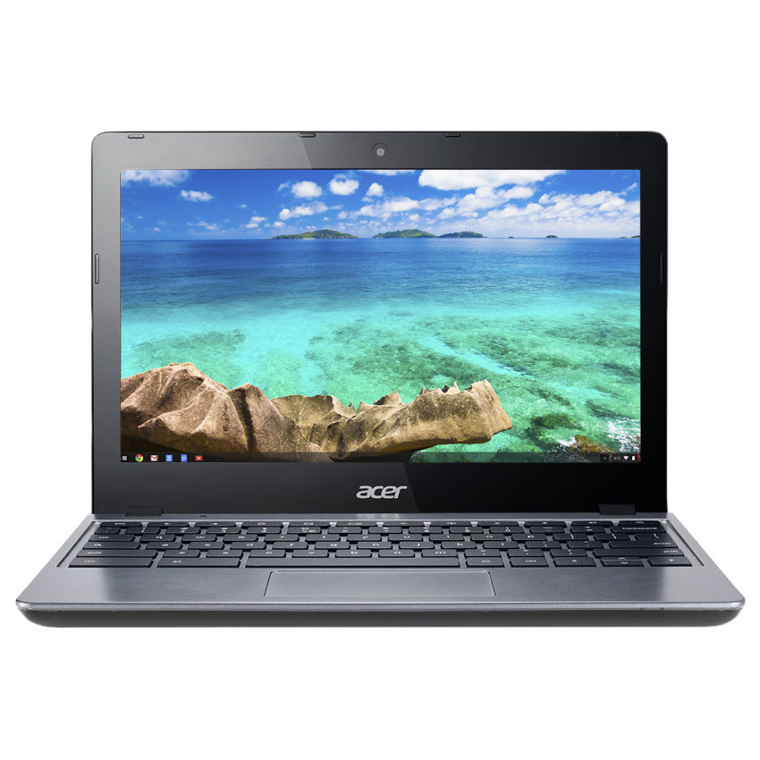 "Refurbished Acer 11.6"" Intel Celeron Dual-Core 1.4 GHz 2 GB Ram 16GB SSD Chrome OS