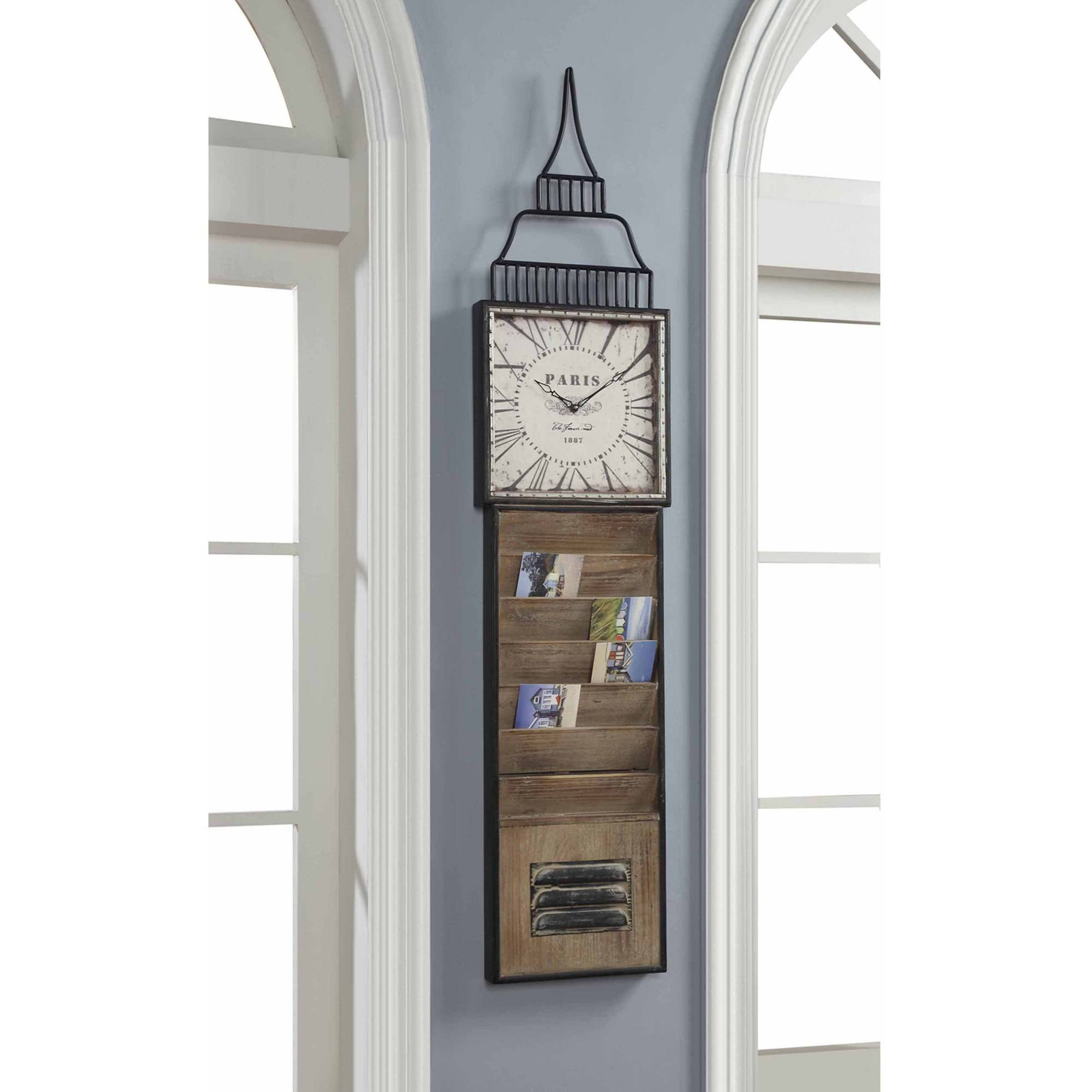 Convenience Concepts Wyoming Wall Clock