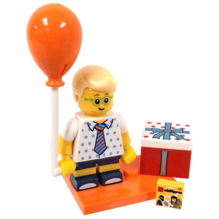 LEGO Series 18 Birthday Party Boy Minifigure [No - Lego Birthday Invitations