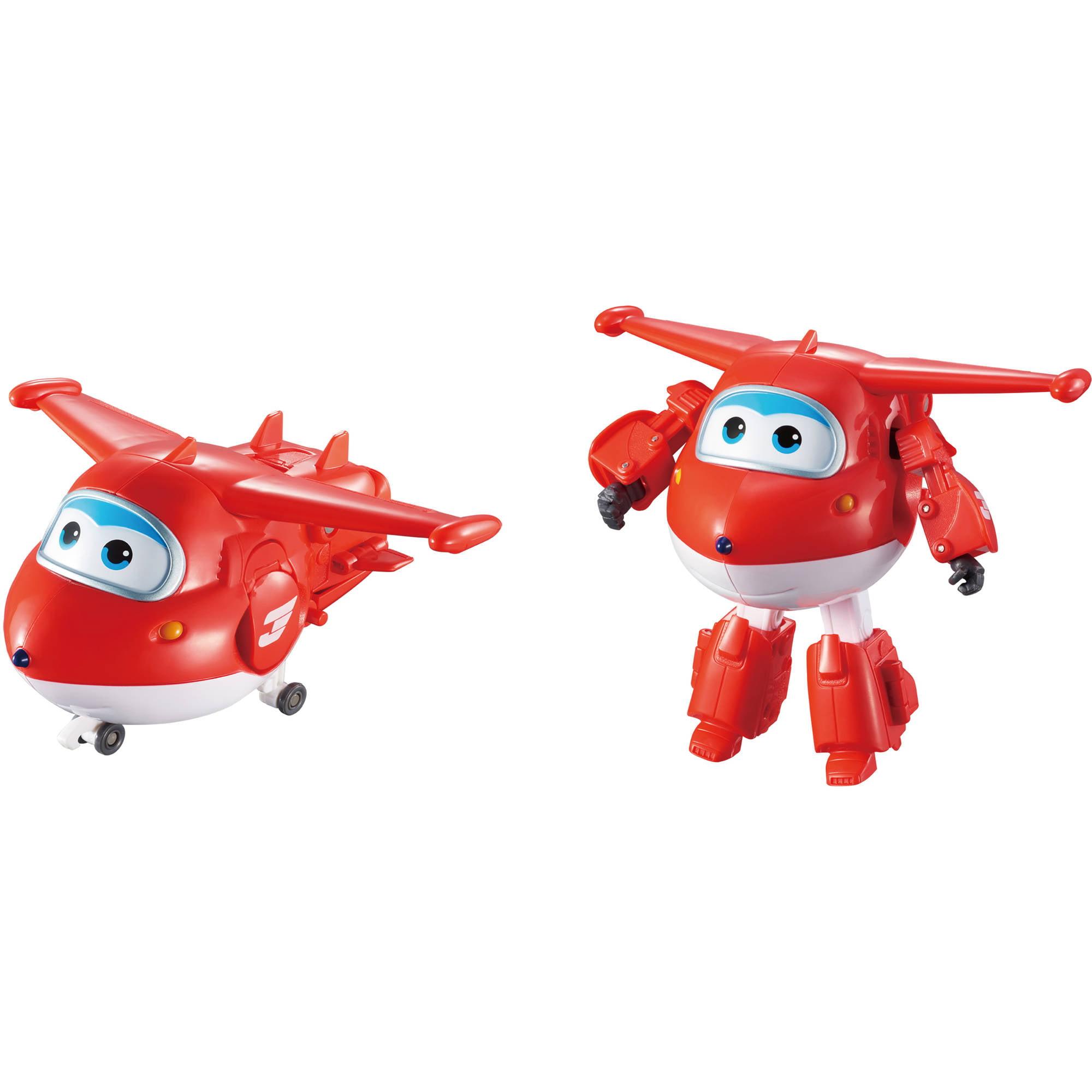 Super Wings Transforming Character Jet Paul New