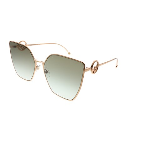 Fendi F Is Fendi FF 0323 DDB 86 Womens Cat-Eye Sunglasses