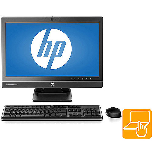 """HP EliteOne 800 G1 F4K66UT All-in-One PC with Intel Core i5-4570S Quad-Core Processor, 4GB Memory, 23"""" Touchscreen Display, 500GB Hard Drive and Windows 8.1 Professional"""