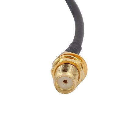 Unique Bargains RG174 Coaxial Antenna Extension Cable SMA Female to Male Connector 2M Length - image 2 of 3
