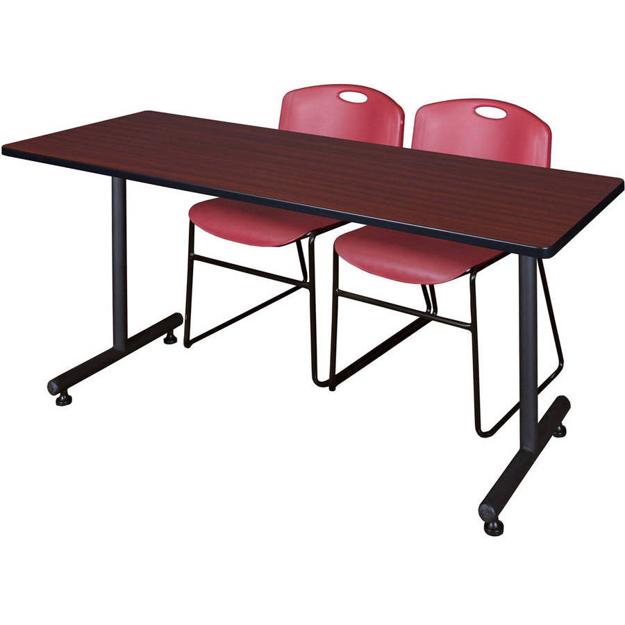 Regency Kobe Training Table with 2 Stackable Zeng Chairs