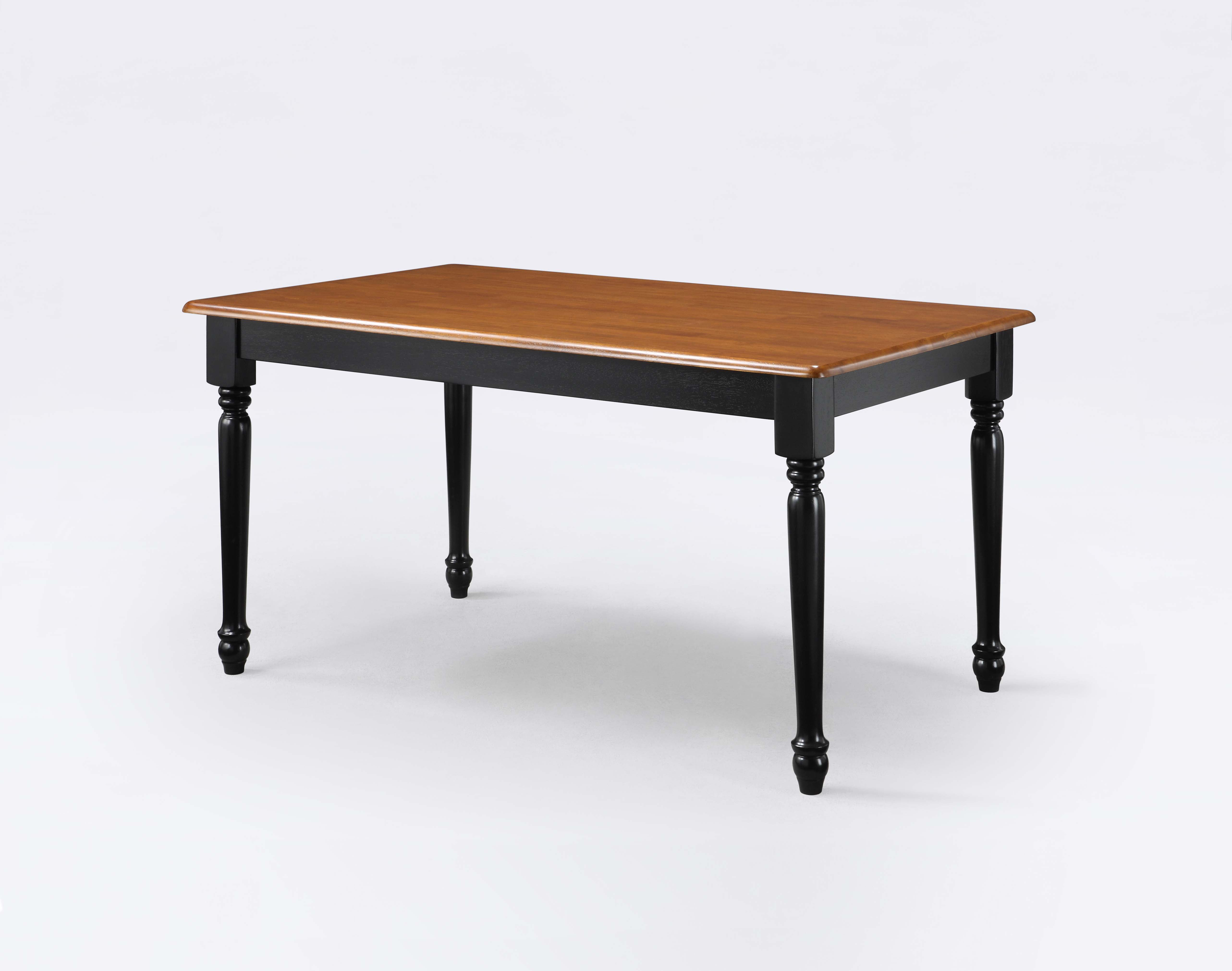 Better homes and gardens autumn lane farmhouse dining for Black dining table