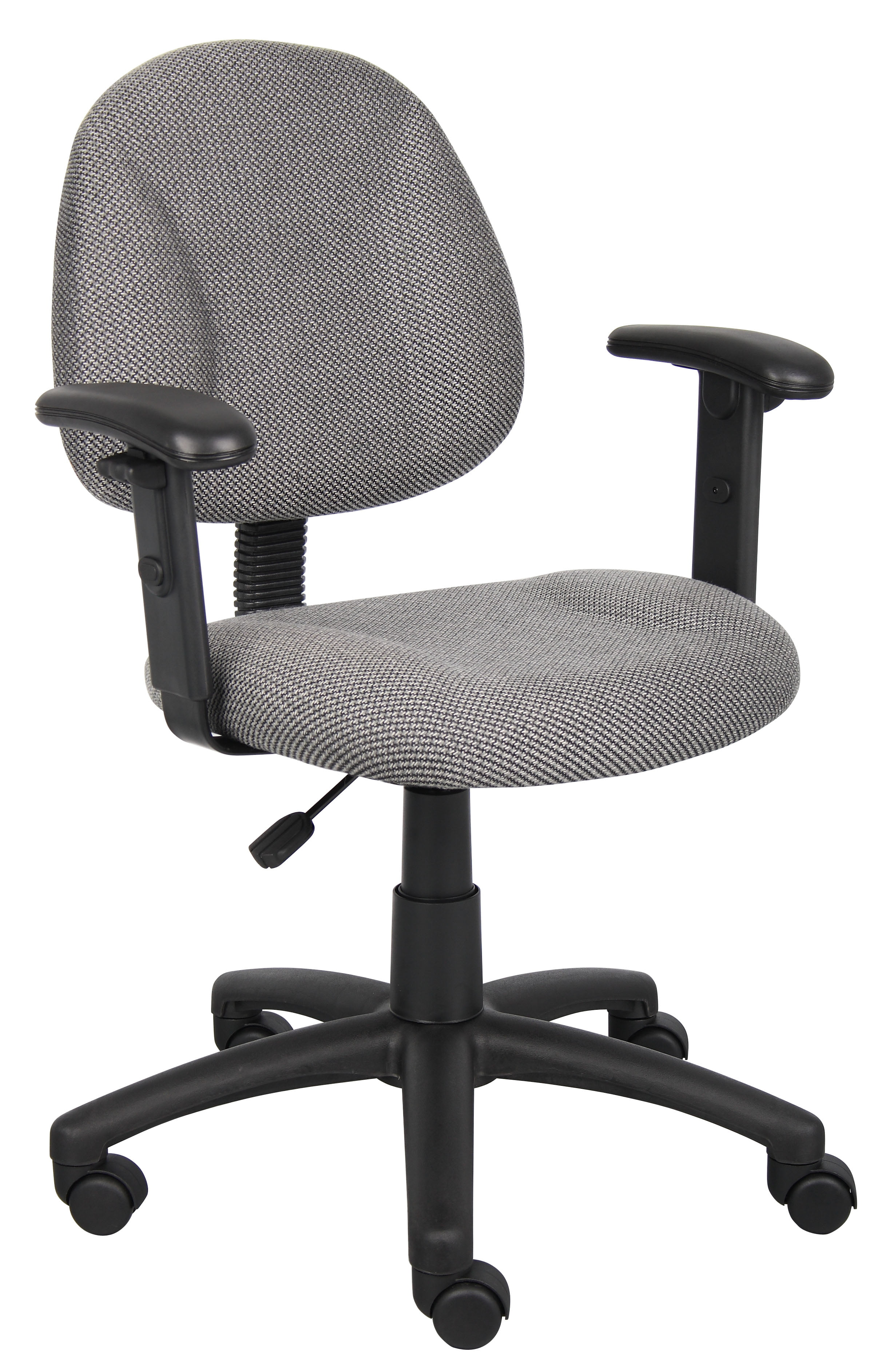 boss office home black perfect posture deluxe office task chair
