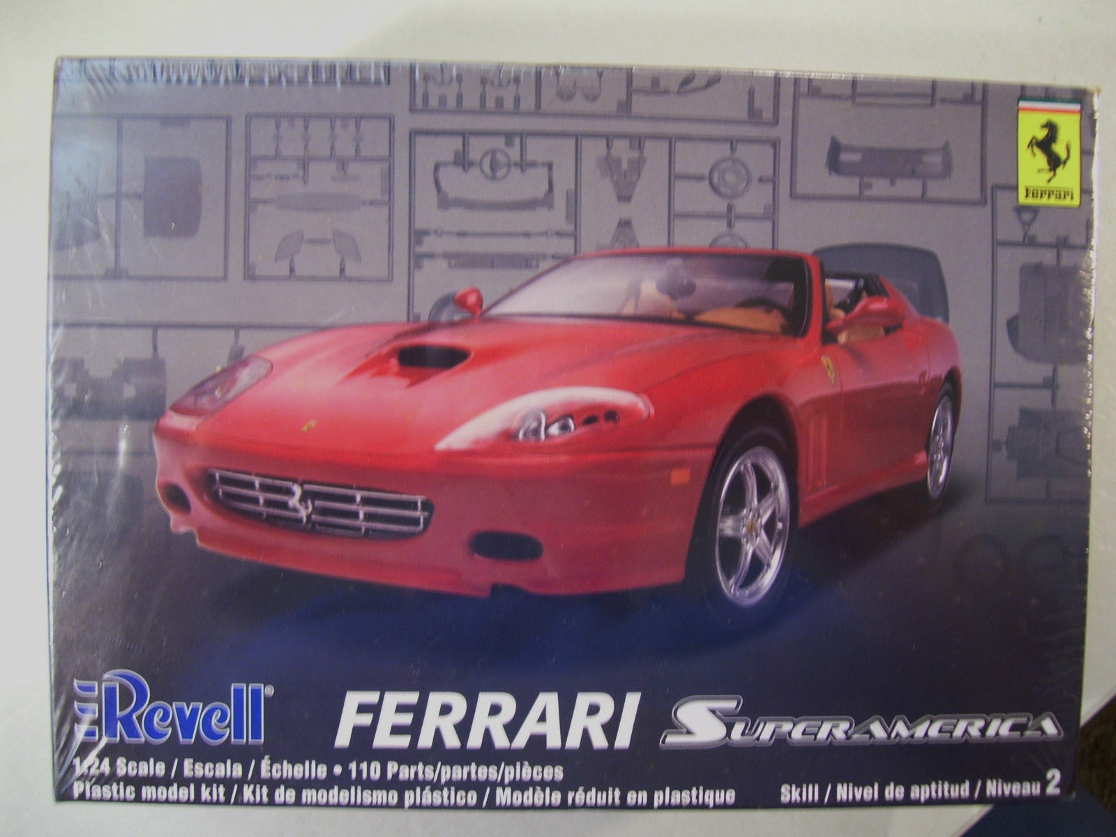 Revell Ferrari Superamerica 1:24 Scale Model Kit by Revell