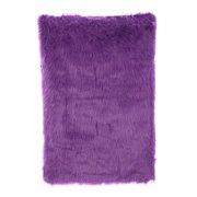 Fun Rugs Flokati Purple Area Rug