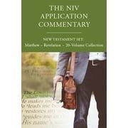 NIV Application Commentary: The NIV Application Commentary, New Testament Set: Matthew - Revelation, 20-Volume Collection (Hardcover)
