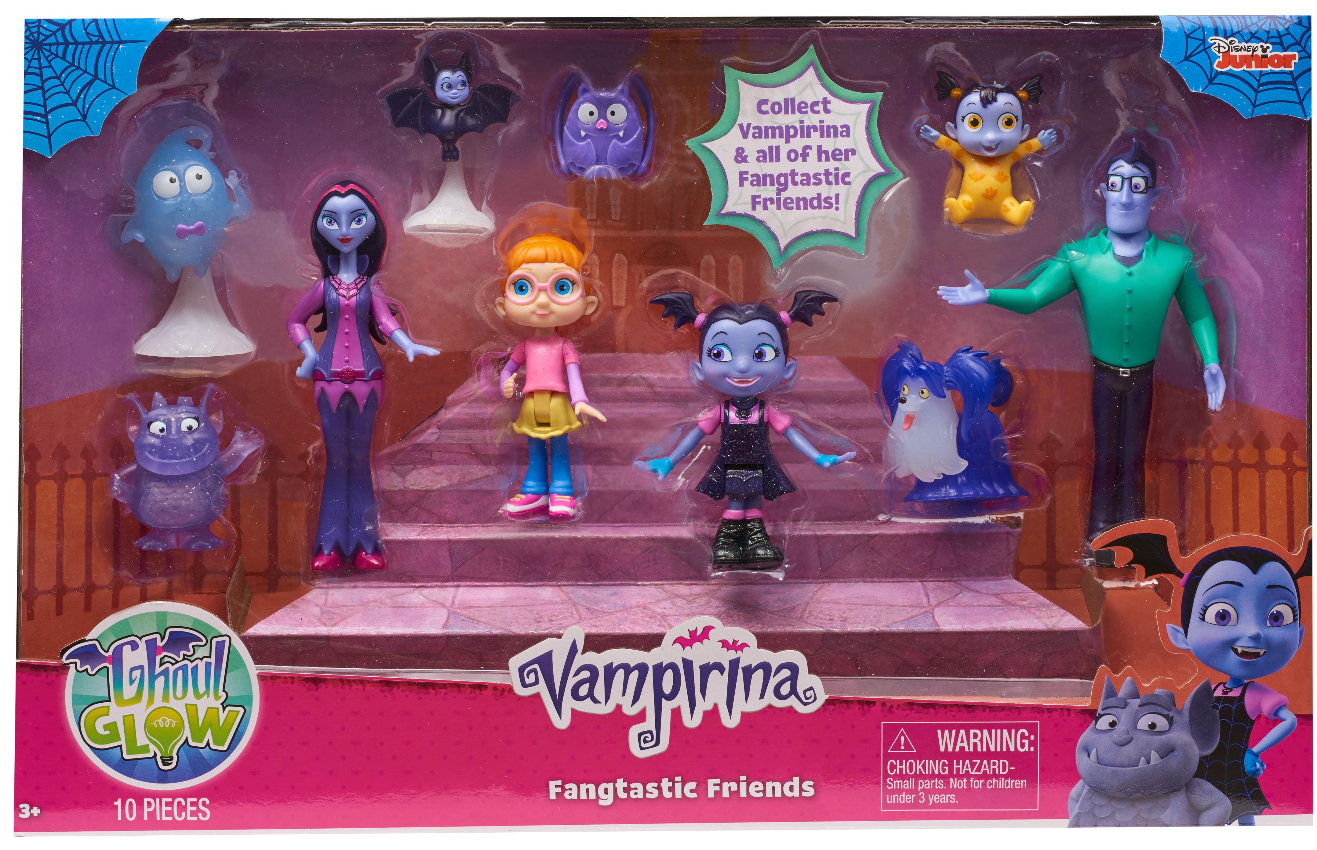 Vampirina Fangtastic Friends Set Walmart Com