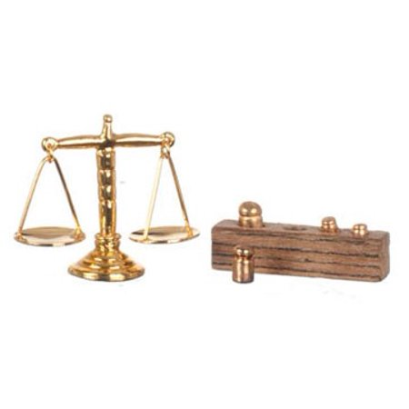 (Dollhouse Scale With Weights)