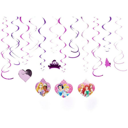 Disney Princess Hanging Party Decorations, Party Supplies